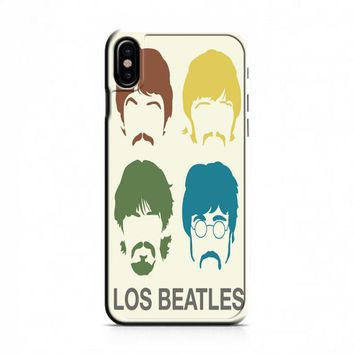 Beatles (color silhouettes) iPhone X Case