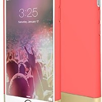 Flexion Euphoria Series Scratch Proof Soft Interior Hard Case for iPhone 6 (4.7-Inch) -  Rose/Gold