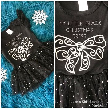 2018 Christmas My Little Black Christmas Dress