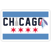 Chicago Flag Inspired