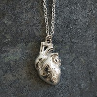The Official I Love Science Store | Anatomical Heart Pendant