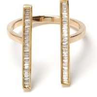Maiyet Double Baguette Open Ring - Forty Five Ten - Farfetch.com