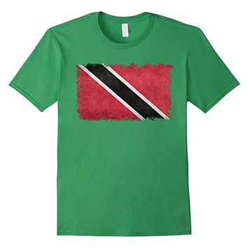 Trinidad and Tobago Flag T-Shirt in Vintage Retro Style