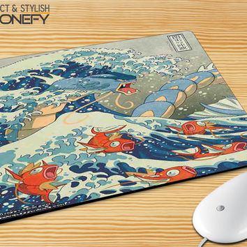 Pokemon Wave Mousepad Mouse Pad|iPhonefy