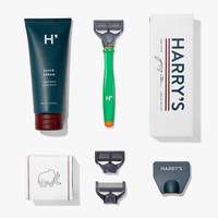 Harry's Shave Kit in Green