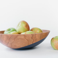 Fruit & Salad Bowl - Space Blue and Clear