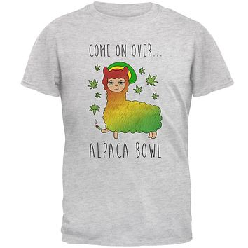 I'll Pack a Bowl Alpaca Pun Mens T Shirt