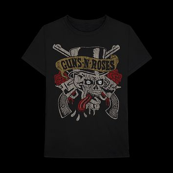 GUNS N' ROSES | TONGUE SKULL T-SHIRT