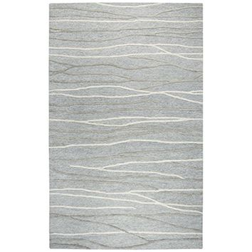 ID968A Idyllic Hand-Tufted Area Rug, Gray, 9' x 12' By Rizzy Home