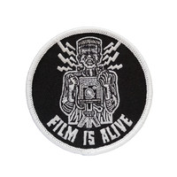 Film Is Alive Embroidered Glow In the Dark Patch