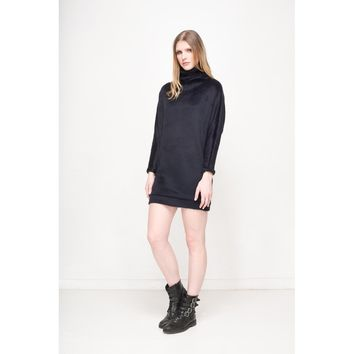 Black Batwing Dress