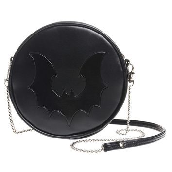 Alchemy of England Black Bat Handbag