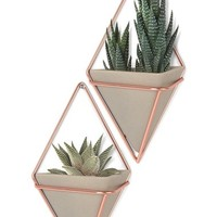 Umbra 'Trigg Small' Wall Vessel (Set of 2) | Nordstrom