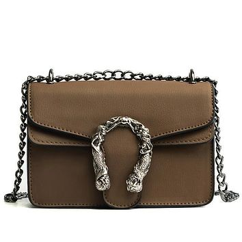 Tiptoegirls Fashion Women Bags New Design Girls' Shoulder Bags Diagonal Quality Leather Lady Handbags Vintage Chains Small Bag