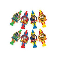 Paw Patrol Prismatic Primary Color Blowouts [8 Per Pack]