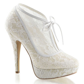 Lolita 32 Ivory Lace Boot Style Wedding Shoe 593075ee4