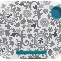 Turquoise, White & Gray Floral Lap Desk | Shop Hobby Lobby