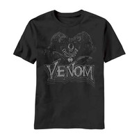 Venom (Marvel Comics) Men's  Vintage Venom Slim Fit T-shirt Black
