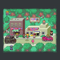 Earthbound Town
