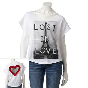 Jerry Leigh Lost In Love Tee
