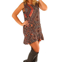 Count Your Blessings Dress: Multi
