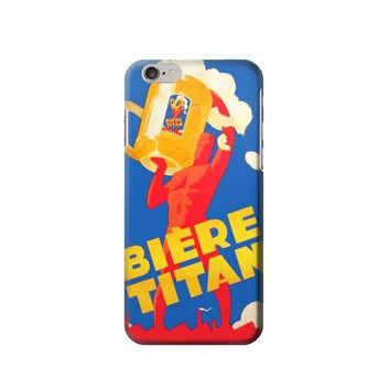 P2741 Vintage Biere Titan Phone Case For IPHONE 6S