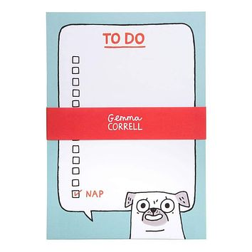 Pug To Do A5 Notepad [Ohh Deer]