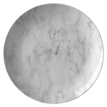 Marble Polymer Dinner Plates