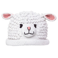 Little Lamb Baby Beanie Hat Winter Hat | Melondipity