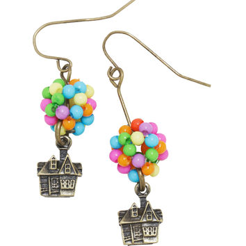 Disney Up House Drop Earrings
