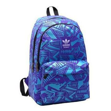 Adidas Fashion Print Sport Travel Bag School Shoulder Bag Backpack