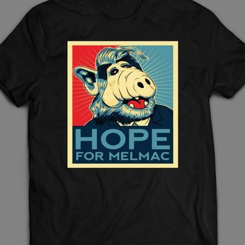 "TV SITCOM ALF ""HOPE FOR MELMAC"" T-SHIRT"