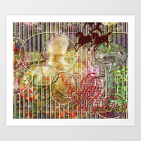 The Relative Frequency of the Causes of Breakage of Plate Glass Windows (2) Art Print by Wayne Edson Bryan