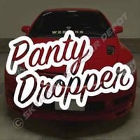 Panty Dropper Funny Bumper Sticker Vinyl Decal JDM Car Hatchback Dope Fits Honda