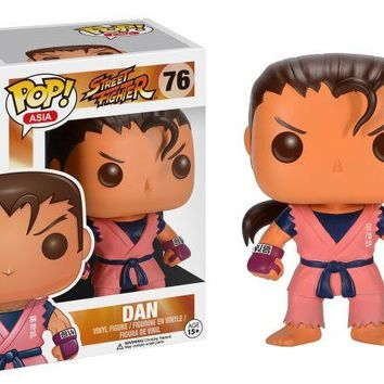 Street Fighter Dan POP! Vinyl Figure
