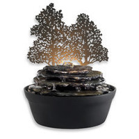 HoMedics?- enviraScape Illuminated Relaxation Shadow Effect Fountain - Bed Bath & Beyond