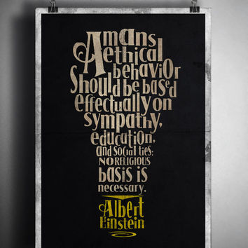 Albert Einstein Quotes, (Instant Download) , 300 dpi, Popular Digital Art, Decoration, Poster
