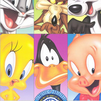 Warner Brothers Looney Tunes Cartoons 11x17 Movie Poster