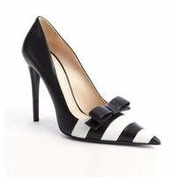 Sexy Stiletto Heel Pointed Toe Bow-Knot Elegant Pumps