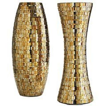Pier 1 Imports - Product Details - Gold Mosaic Vases