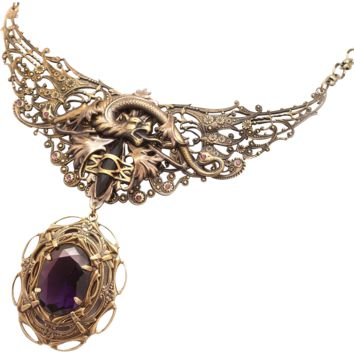 Dragon Wings Dragon Necklace Dragon Pendant Dragon Jewelry