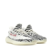 "Adidas By Kanye West Yeezy Boost 350 V2 ""Zebra"" CP9654 Men Size US 5.5 NEW"