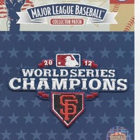 2012 San Francisco Giants World Series Champions Champs Patch 100% Official MLB Licensed | deviazon.com