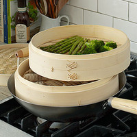 12'' Bamboo Steamer | Home Sale Items | Stonewall Kitchen - Specialty Foods, Gifts, Gift Baskets, Kitchenware and Kitchen Accessories, Tableware, Home and Garden Décor and Accessories