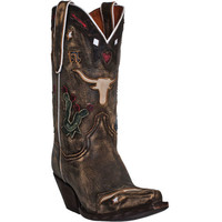DP3587 Dan Post Women's Cowboy Dreams Western Boot from Bootbay, Internet's Best Selection of Work, Outdoor, Western Boots and Shoes.
