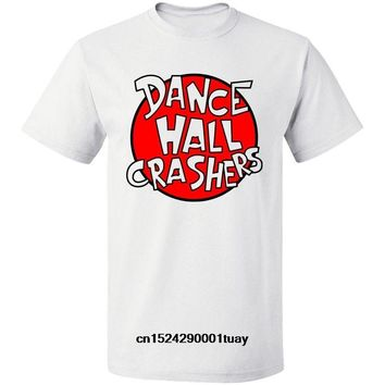 SHIRT Dance Hall Crashers Punk Rock Band Logo Ska Punk Mens T Shirt