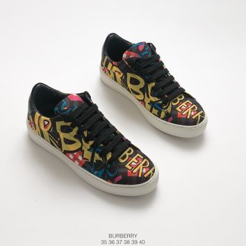 Burberry Rainbow Graffiti Sneakers