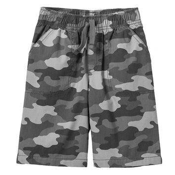 Jumping Beans Printed Canvas Shorts - Boys 4-7x, Size: