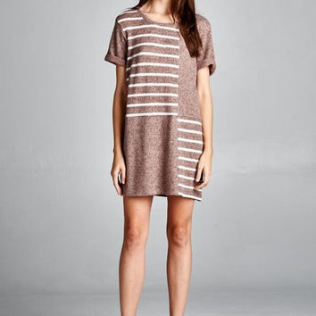 Cherish Boxy Fit Sweater Dress