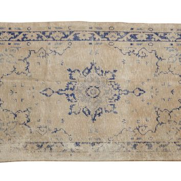 3x6 Vintage Distressed Oushak Rug Runner